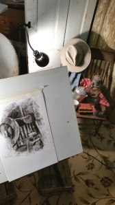 First Charcoal Attempt at Still Life Since High School