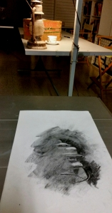 Ten-Minute Charcoal Erasure at Trinity Arts Guild