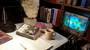Friday Night at my Writing Table