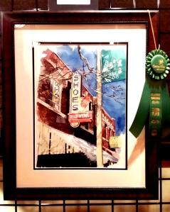 Third Place, Camp Fire First Texas: An Artist's Christmas