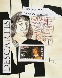 My Collage of Rene Descartes