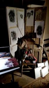 A Quiet Night in the Garage Studio