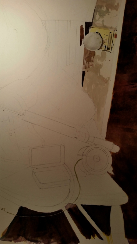 The Beginnings of the Watercolor