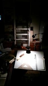 Cold Rainy Night in the Garage Studio