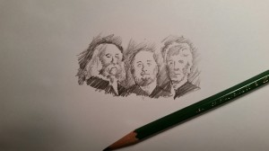 Very Rapid Sketch of My All-Time Favorite Musicians