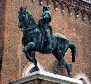 """Verrocchio's """"Bartolommeo  Colleoni"""""""