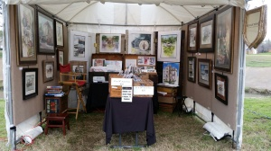 My Booth at Art on the Greene