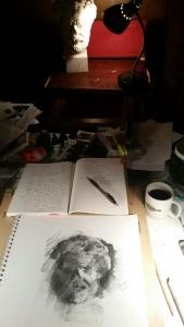 A Cozy Night in the Studio