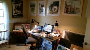 My Newly-Furbished Working Space at Home