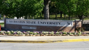 Sam Houston State Univesity, Huntsville, Texas
