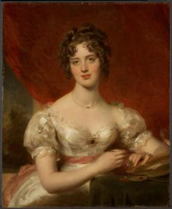 Portrait of Mary Anne Bloxam (later Mrs. Frederick H. Hemming)
