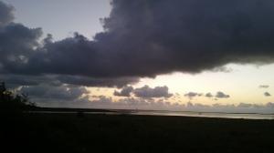 Thursday Morning Laguna Madre Skies