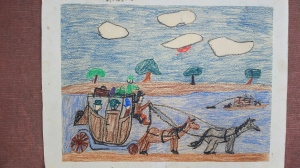 My Earliest Saved Artwork--Third Grade
