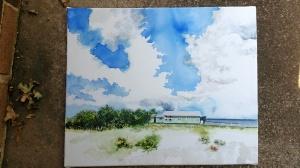 Work on a Laguna Madre Landscape