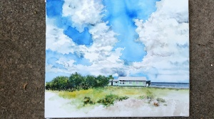 Laguna Madre Painting