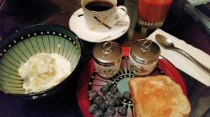 Early Saturday Morning Breakfast