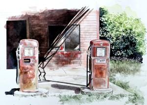 Lexington, Texas pumps