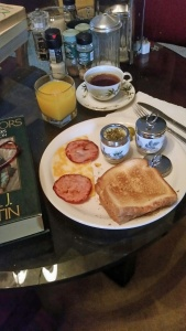 A Satisfying Saturday Breakfast
