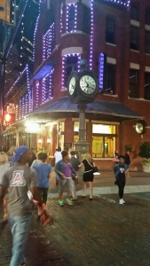 A Night's Stroll on Sundance Square