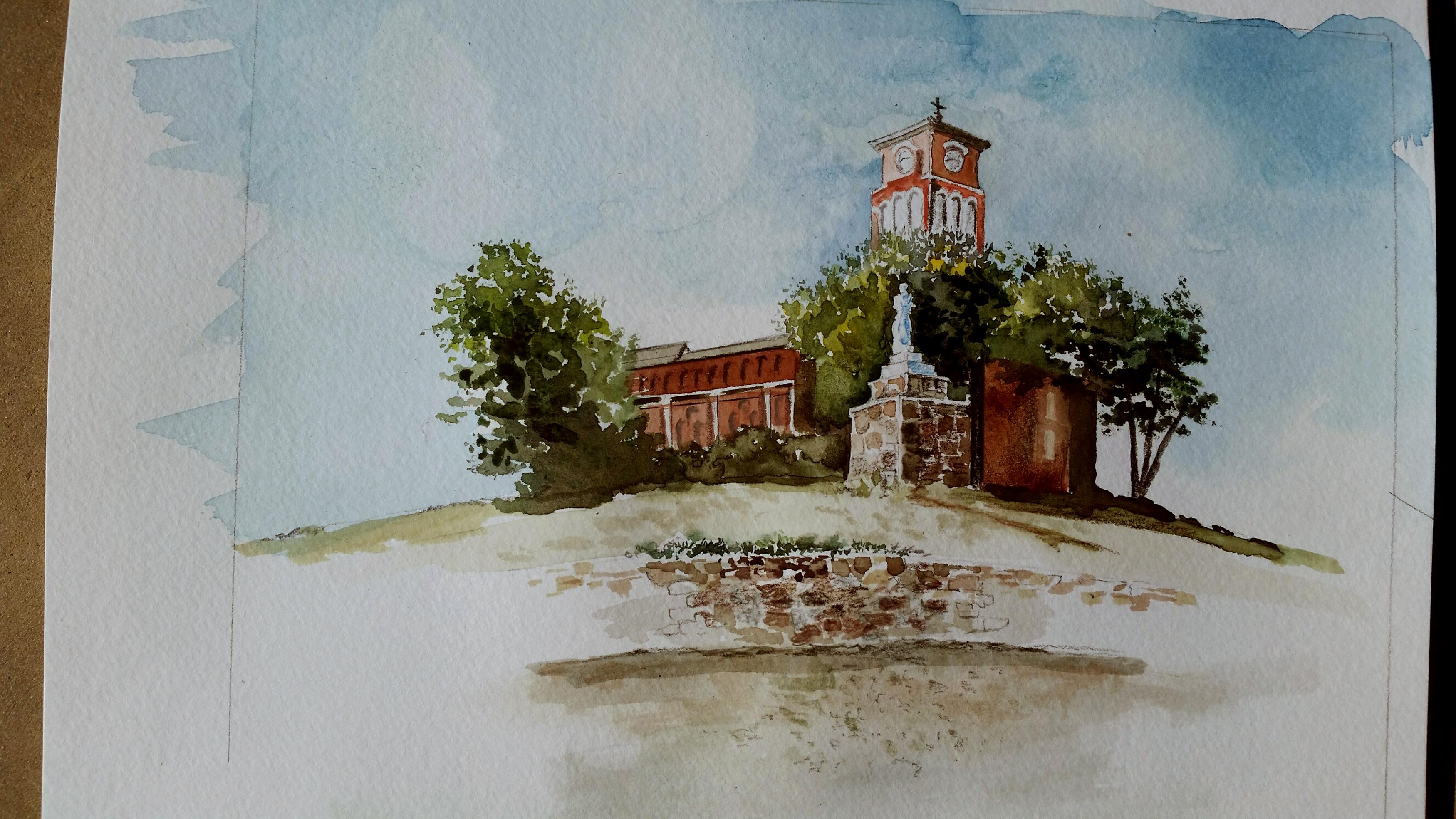 windhorst watercolor