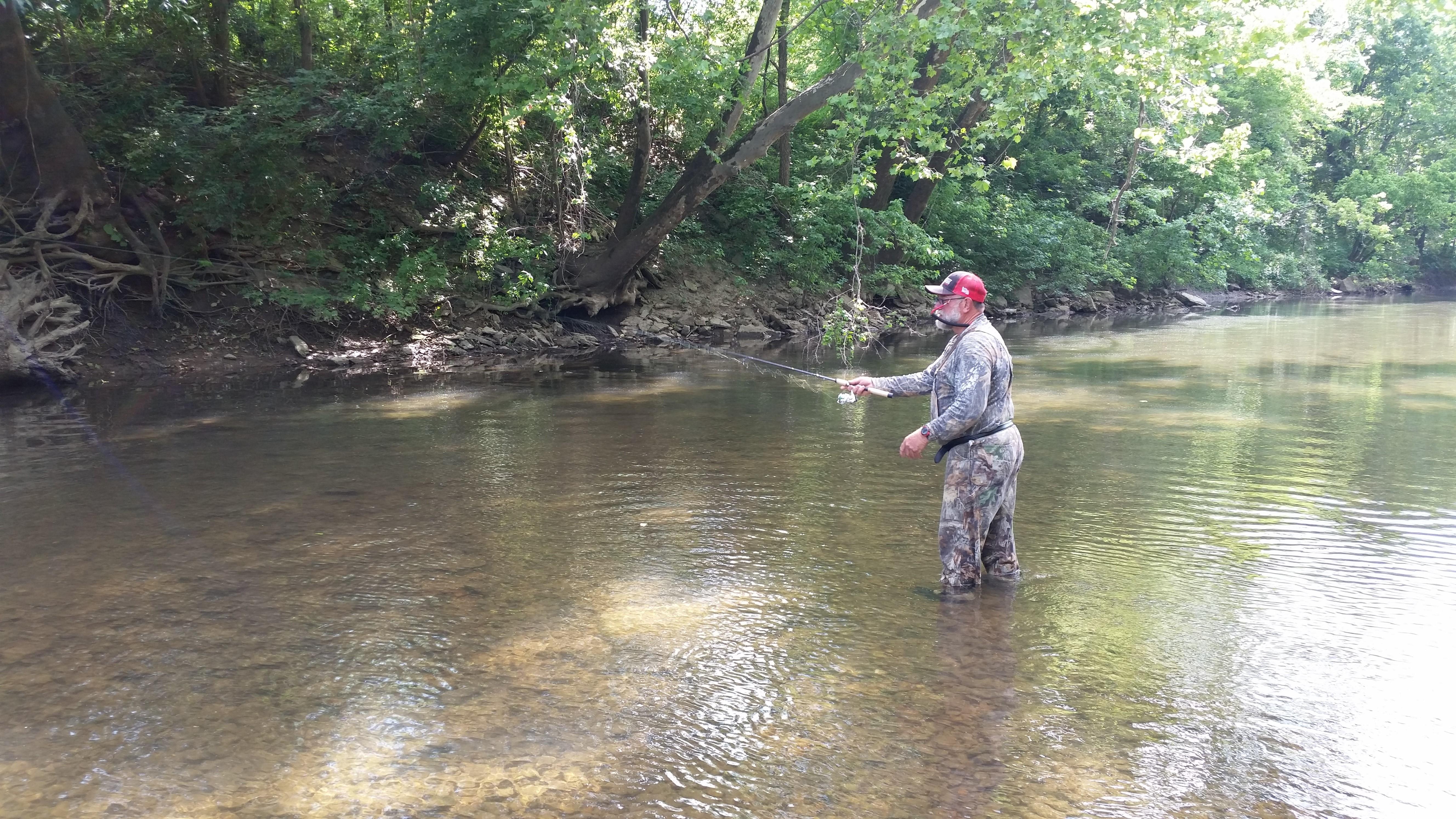 wayne fishing