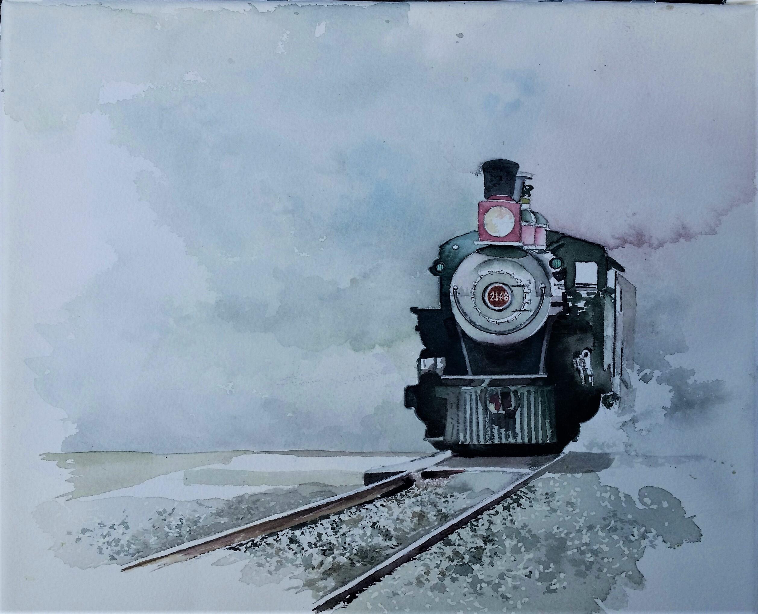 grapevine train