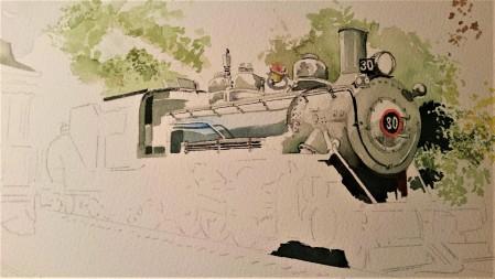 rusk train