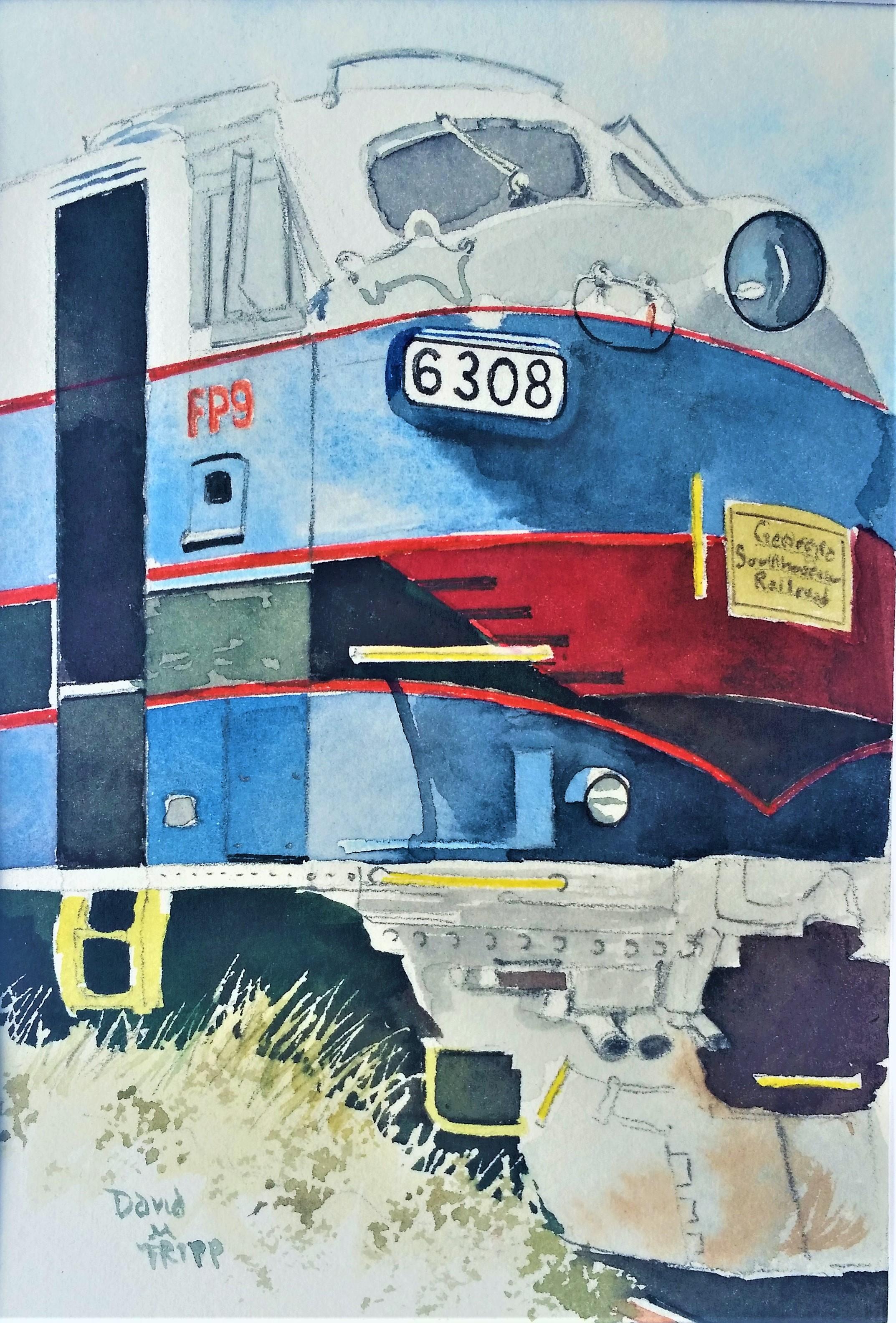 Blue & Red diesel