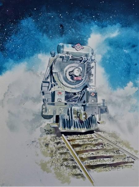 Night Train Blue