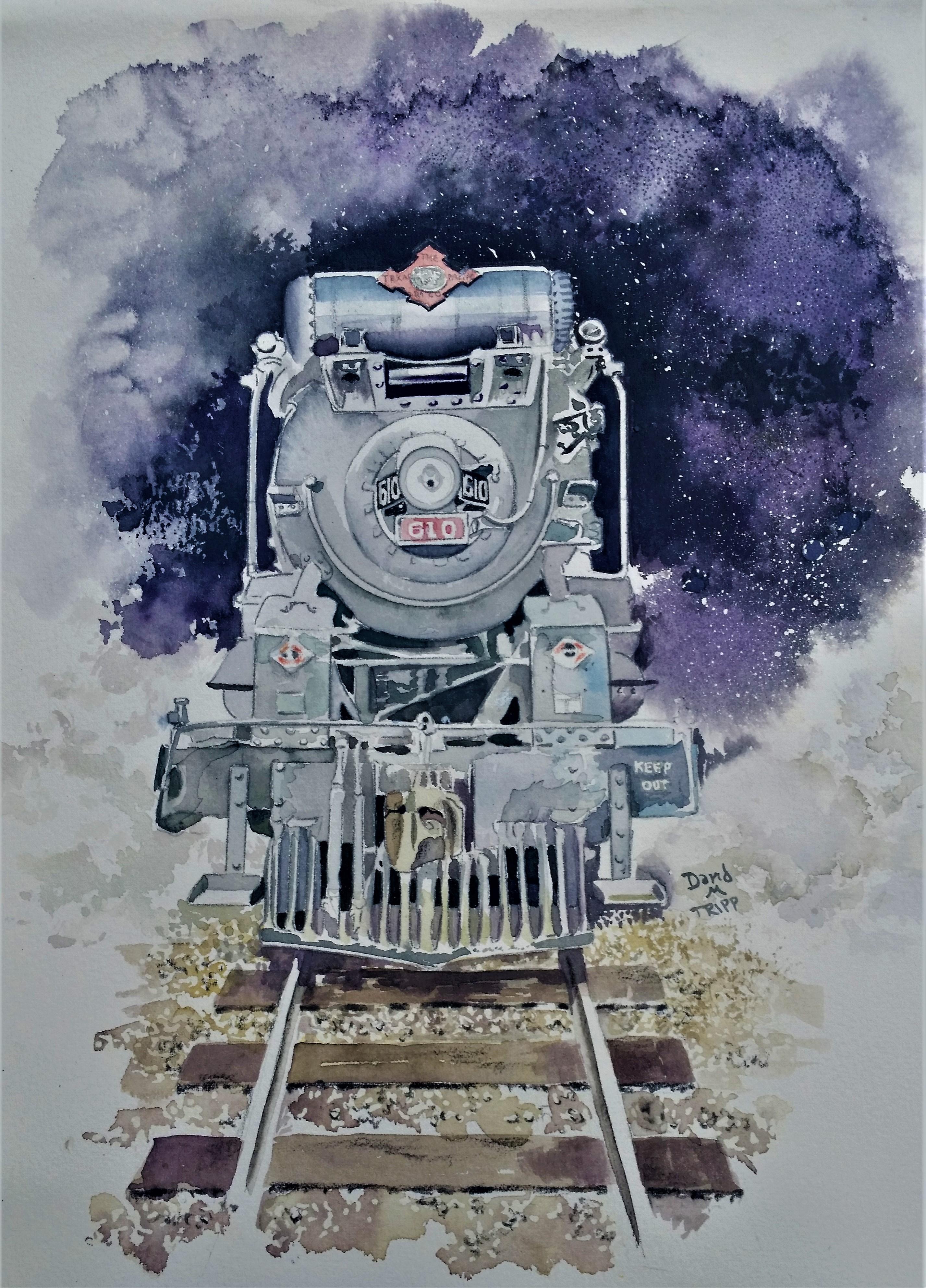 Night Train Violet