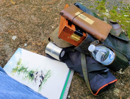 cliff painting gear