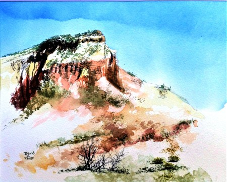 ghost ranch upright