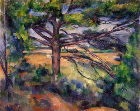 cezanne pine